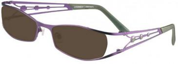 Prodesign Denmark 5128 sunglasses in Purple