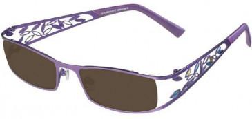 Prodesign Denmark 5129 sunglasses in Purple