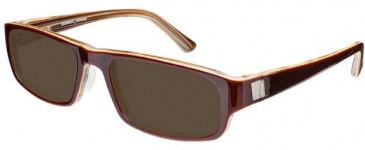 Prodesign Denmark 7617-54 sunglasses in Orange