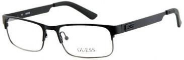 Guess GU1731 Glasses in Black Gunmetal