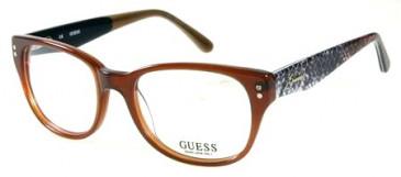 Guess GU2333 Glasses in Amber