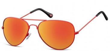 SFE-9158 Sunglasses in Red