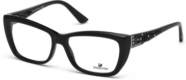 Swarovski SK5084 Glasses in Shiny Black