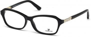 Swarovski SK5086 Glasses in Shiny Black