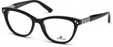 Swarovski SK5088 Glasses in Shiny Black