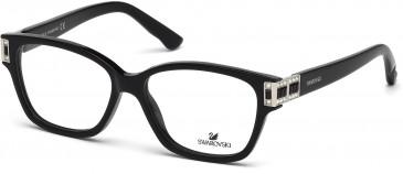 Swarovski SK5090 Glasses in Shiny Black