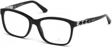 Swarovski SK5113 Glasses in Shiny Black