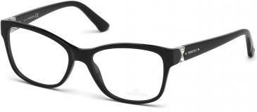 Swarovski SK5115 Glasses in Shiny Black