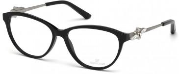 Swarovski SK5119 Glasses in Shiny Black