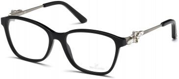 Swarovski SK5120 Glasses in Shiny Black