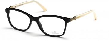 Swarovski SK5121 Glasses in Shiny Black