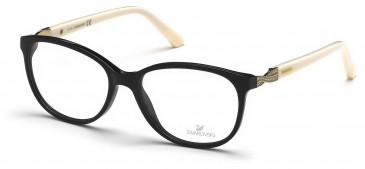 Swarovski SK5122 Glasses in Shiny Black