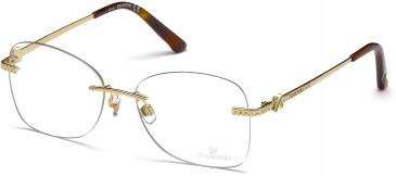 Swarovski SK5124 Glasses in Gold