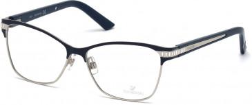 Swarovski SK5128 Glasses in Shiny Blue