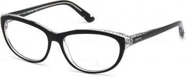 Swarovski SK5135 Glasses in Shiny Black