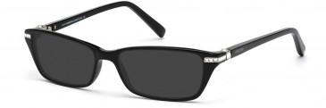 Swarovski SK5081 Sunglasses in Shiny Black
