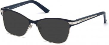 Swarovski SK5128 Sunglasses in Shiny Blue