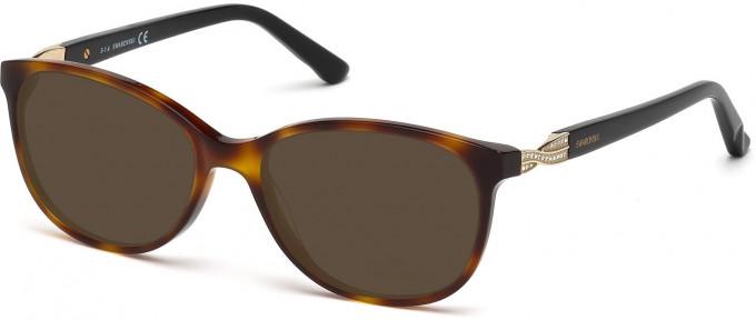 Swarovski SK5122 Sunglasses in Dark Havana