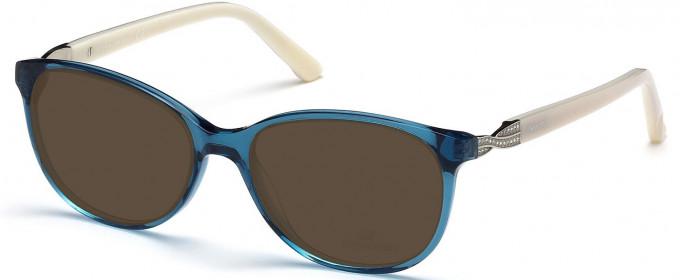 Swarovski SK5122 Sunglasses in Matte Blue