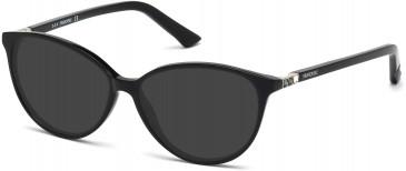 Swarovski SK5136 Sunglasses in Shiny Black