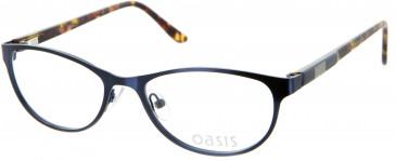 Oasis Bellflower glasses in Dark Blue