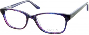 Oasis Picotee glasses in Purple