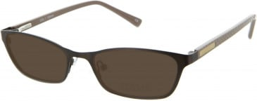 Oasis Daphne Sunglasses in Brown