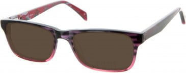 Oasis Romulea Sunglasses in Red