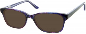 Oasis Picotee Sunglasses in Purple