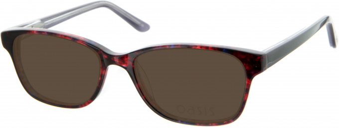 Oasis Picotee Sunglasses in Red