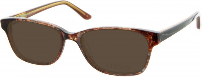 Oasis Picotee Sunglasses in Brown