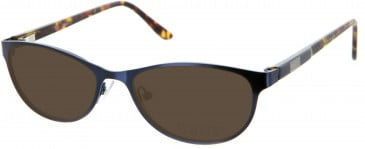 Oasis Bellflower Sunglasses in Dark Blue