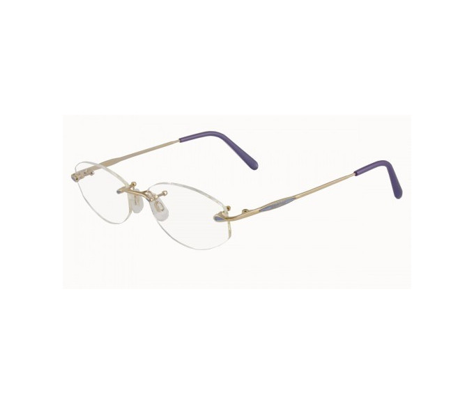 Jaeger 228 Glasses in Gold/Violet