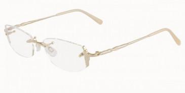 Jaeger 246 Glasses in Gold/Rose