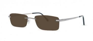 Jaeger 270 Sunglasses in Ruthenium/Grey