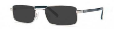 Jaeger Large Titanium Ready-Made Reading Sunglasses