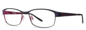 X-Eyes 152 Glasses in Purple/Fuchsia