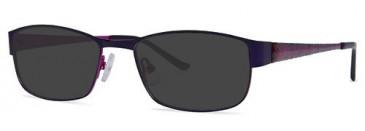 X-Eyes 149 Sunglasses in Purple/Fuchsia