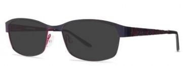 X-Eyes 152 Sunglasses in Purple/Fuchsia