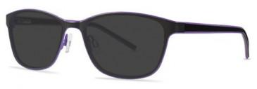 X-Eyes 157 Sunglasses in Black/Purple