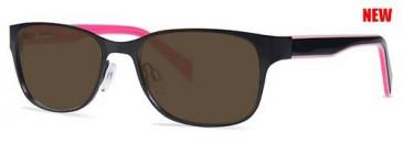 Zenith 76-50 Sunglasses in Black