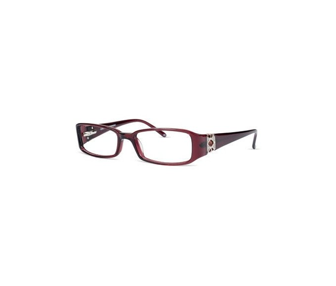 Jacques Lamont JL 1200 Glasses in Burgundy