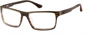 CAT (Caterpillar) CTO-J02 Glasses in Gloss Khaki Horn