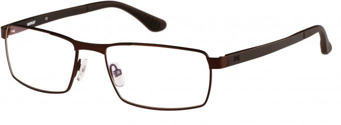 CAT (Caterpillar) CTO-J09 Glasses in Matte Brown/Black