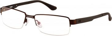 CAT (Caterpillar) CTO-J10 Glasses in Matte Brown/Black