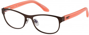O'Neill MARGO Glasses in Matte Brown/Gloss Coral