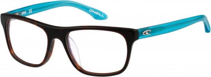 O'Neill JESSE Glasses in Matte Tortoiseshell/Turquoise
