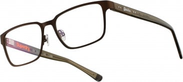 Superdry SDO-ELLIOT Glasses in Painted Matte Brown/Khaki Crystal