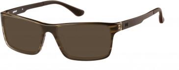 CAT (Caterpillar) CTO-J02 Sunglasses in Gloss Khaki Horn
