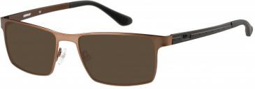 CAT (Caterpillar) CTO-J04 Sunglasses in Light Brown/Black